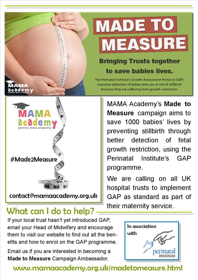Made to Measure flyer